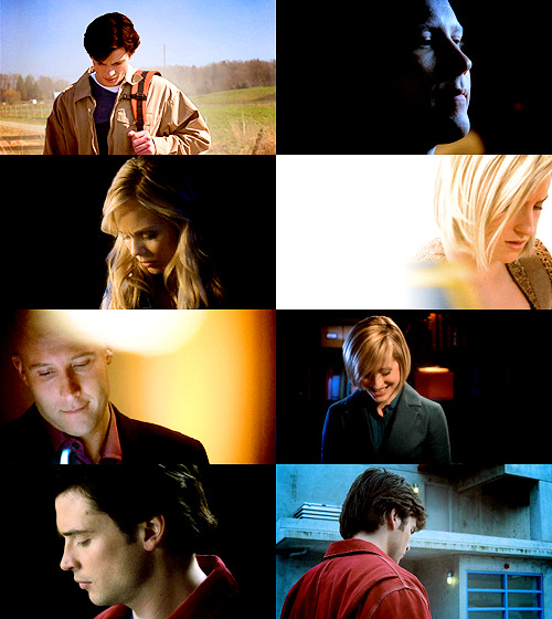 softkakumei:  screencap meme: looking down + smallville
