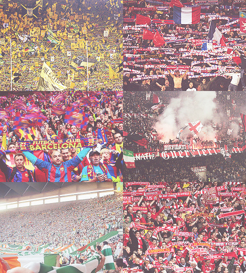 """Football without fans is nothing. It could be the greatest game in the world, but if there are no people there to watch it, it becomes nothing. The fans are the lifeblood of the game."""
