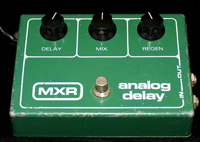 MXR Analog Delay via www.hsronline.biz
