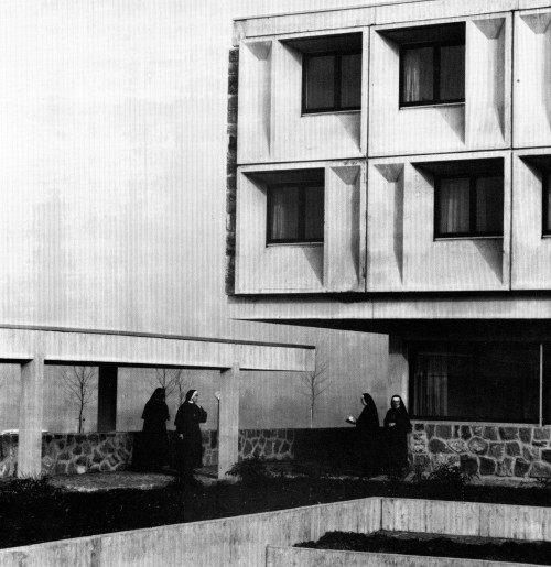fuckyeahbrutalism:  Motherhouse for Franciscan Nuns, Baldwegg, Switzerland, 1973 (Marcel Breuer and Associates)