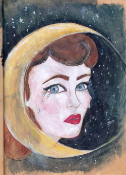 New painting - LADY LUNA