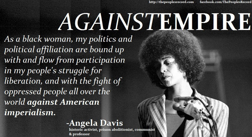 Learning about Angela Davis for the first time was the best part about taking a course on feminist philosophy this semester
