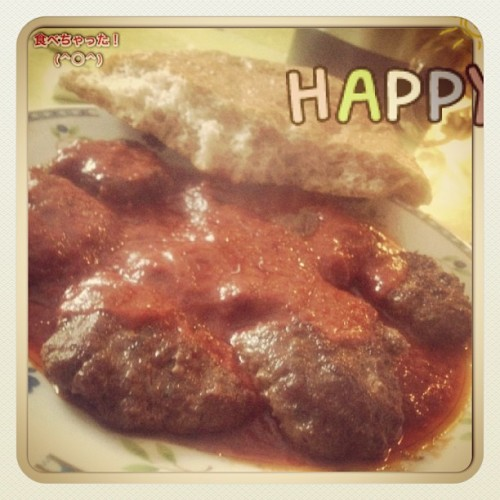 美味しかった! #dinner #happy #köfte #kofte #turkish #food #delicious #tasty #germany #ig #igers #instagram #iphonesia #followme #lol (at Hotel Ülkü)