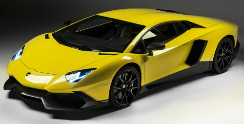 The best gift Starring: Lamborghini Aventador LP720-4 Anniversario (via supercharged.fr)