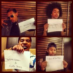 "radiodisney:  Mindless Behavior announced their ""All Around The World"" Tour with Coco Jones and OMG Girlz! http://www.mindlessbehavior.com"