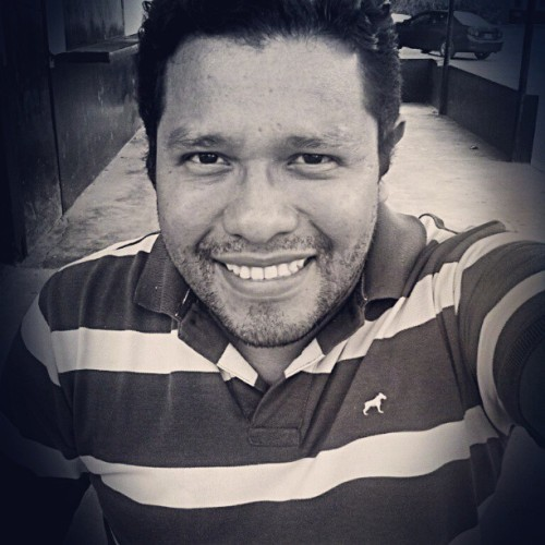 #me #selfportrait #guy #smile #monochromatic