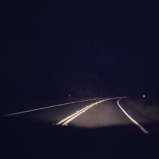 Road #night #driving