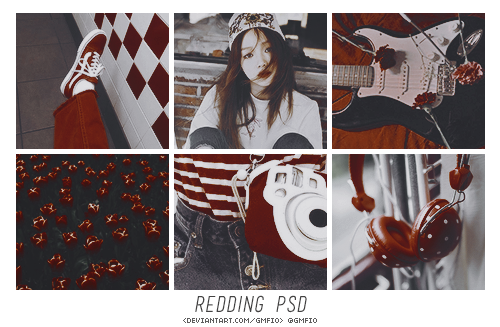 doppelherzpsds: REDDING by doppelherz Don't redistribute or claim as your own.  Like or reblog if you download. Download - DA. #colorings#psd#psd colorings#photoshop psds#red effect#gmfio#gmanfio#retro psd#retro effect#efeito#colorização#retrô#vintage psd#vintage effect