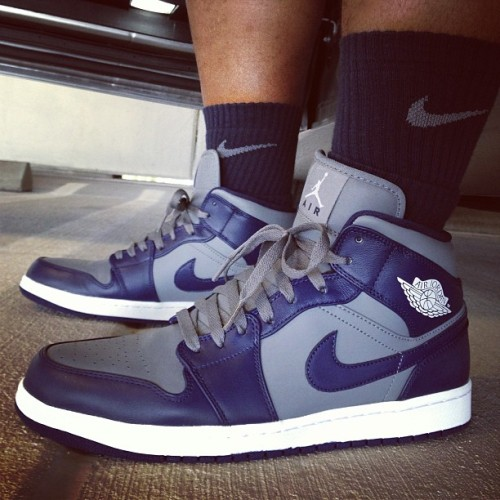 Just got these; had to wear 'em right away. #Complexkicks #sneakerholics #gotmine #todayskicks #igsneakercommunity #soletoday #wdywt #ijustlikeshoes @jumpman23 These are GOOD!