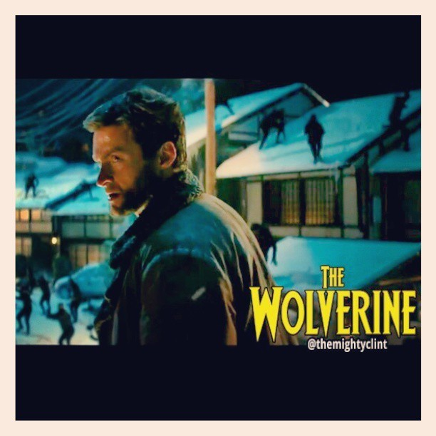 The Wolverine vs Ninjas