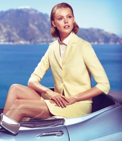 monsieur-j:  Frida Gustavsson for Siviglia S/S 2013 Campaign