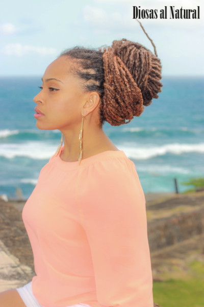 diosasalnatural:  13 years with dreads. Nellisa from Puerto Rico Photo by: Joaquin M