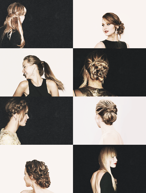 favorite Jennifer Lawrence hairgasm moments