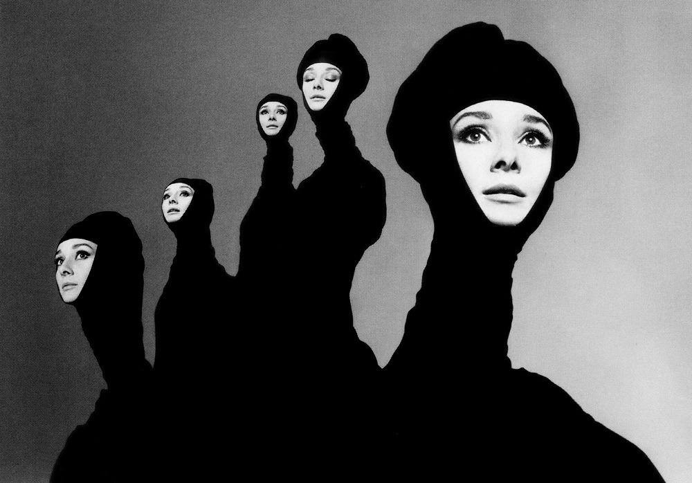 Richard Avedon (American 1923-2004) Audrey Hepburn, New York, January 1967 (via Exhibition: 'Faking It: Manipulated Photography Before Photoshop' at The Metropolitan Museum of Art, New York and the National Gallery of Art, Washington « Art Blart)