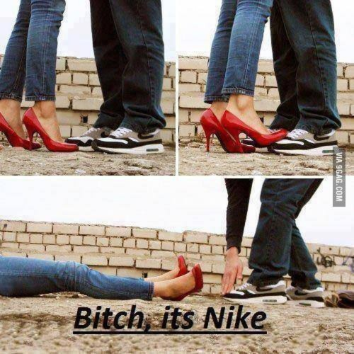 Bitch, it's Nike #repath from mas Herman – View on Path.