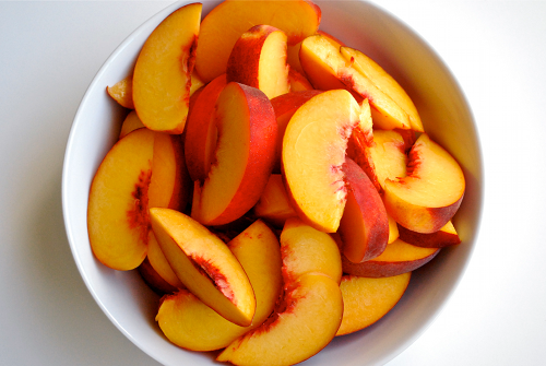 I can't wait till peach season picks up!