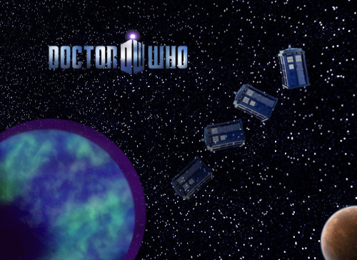 http://scificity.tumblr.com Made this Doctor Who background on Photoshop.