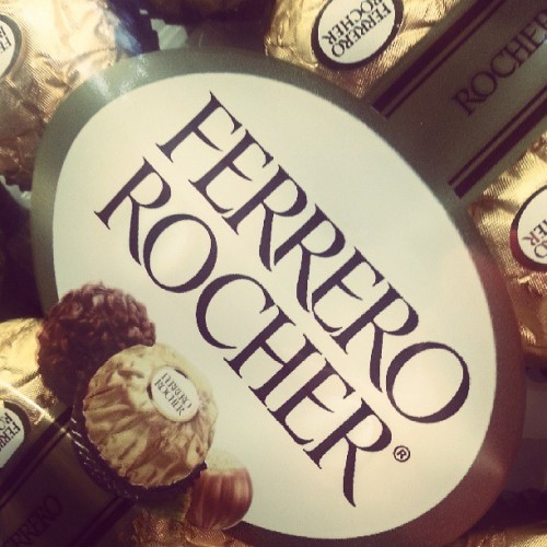 I don't #chocolate often, but when I do I #FerreroRocher