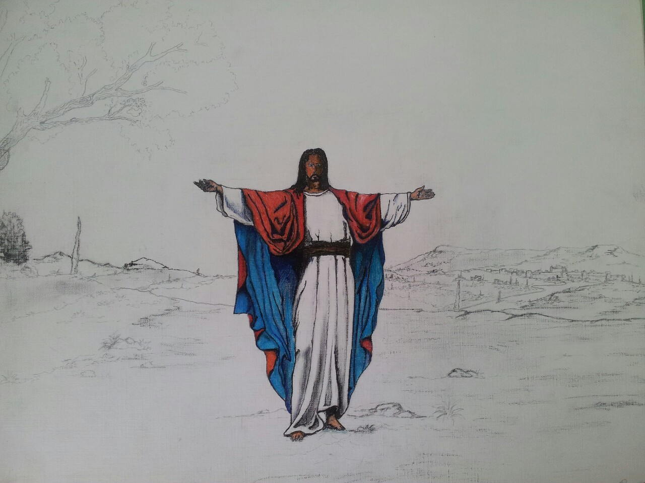 Le christ rédempteur , Bruno Grangeon