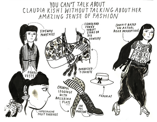 heartshapedglasses:  Claudia Kishi: My Asian-American Female Role Model of the 90s by Yumi Sakugawa.