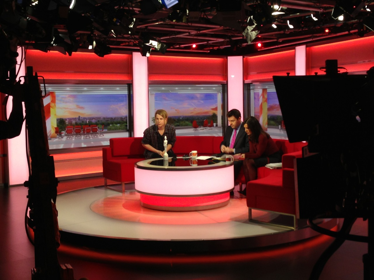 Tom was on BBC Breakfast this morning chatting about Wednesday's BRITS Awards! Clip available soon.