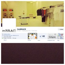 Follow us on Facebook! #boutiqueowner #boutique #style #stylist #streetwear #streetstyle #accessories #jewelry #fashion #fashionindustry #fashionjunkie #clothingline #oakland #bayarea #cosmetics #womensfashion #mensfashion #hiphop #dopegear #iloveigmacgirls #cosmetics #shoes  (at www.facebook.com/imBRACEboutique)