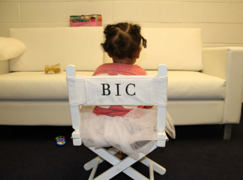 "surisburnbook:  This might be the best photo of Blue Ivy ever taken.  You guys, I've looked at this photo about 10 times and did not put together that BIC stood for ""Blue Ivy Carter"".  Hand to God, I thought it stood for ""Bitch in Charge"" and I was like, wow, Beyonce and Jay-Z are very forward."