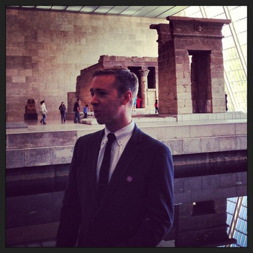 The Temple of Dendur #hackthemet (at The Metropolitan Museum of Art)