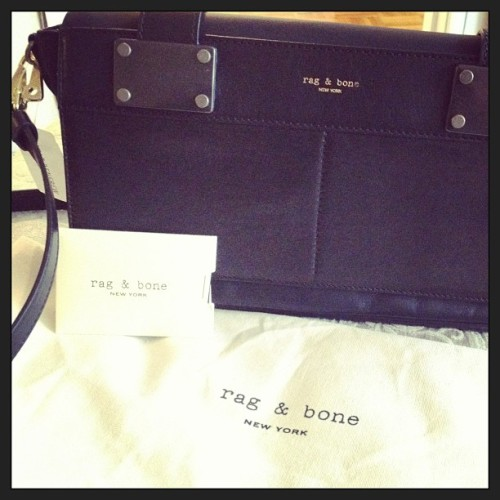 #Ragandbone #Pilot #Clutch #Military #Inspired #Black from @holtrenfrew #Fashion #Obsessed #HoltRenfrew #purse #tearsofjoy ❤