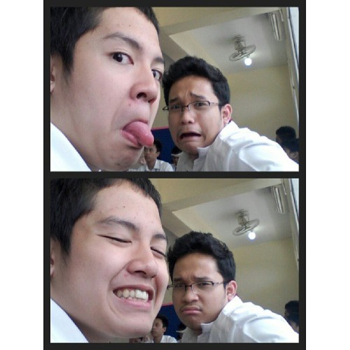 This is #bromance. :'> (at Integrated Montessori Center)