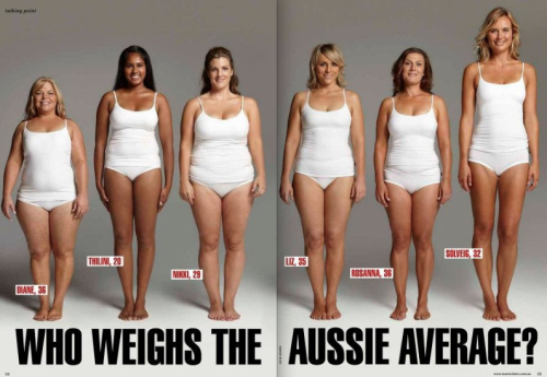 All these lovely ladies weigh 154lbs. We all carry weight differently, don't live your life by an outdated chart. Find a number that looks and feels good