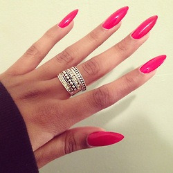 lotusbeauty22:  Pink Sweetness Nails