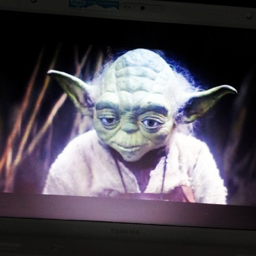 imnotthegirlwhoyouthinkiam:  Yoda. ♥