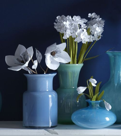 Paper Flowers - Snow Drop | west elm