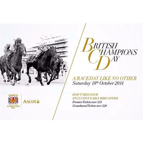 A race day like no other, British Champions Day. You don't have to miss out, charter a jet or helicopter to attend, email: bookings@themodernconnoisseur.com  #luxury #LuxuryLifestyle #LuxuryLiving #HorseRacing #event #PrivateJet #PrivateJetCharter #LuxuryJet #Travel #TravelConcierge #concierge