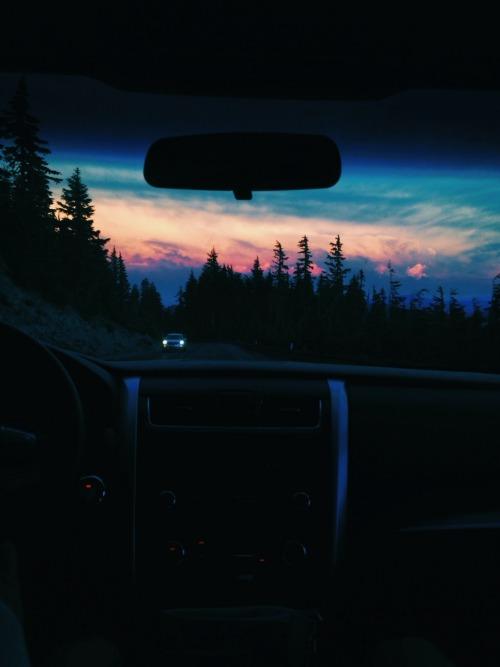 tharealsydshady:  evening drive, 08.01.14
