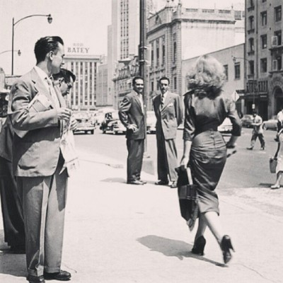 getwiththe40s:  This bitch is really working this picture, keeping it classy.. #classy #1940s #1950s #vintage #retro #love by melissalouise_xo http://instagr.am/p/Wr24u1C6uo/