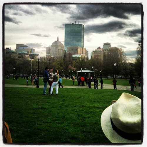 @stephsloan  (at Boston Common)