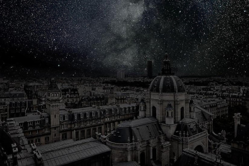 "This photography series — ""Darkened Cities"" — by Theirry Cohen that's featured over at Fast Company and the Danziger Gallery in New York will blow your mind. It's all cities imagined with the lights off and, look: You can see the stars."