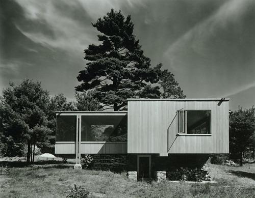 ezra stoller, chamberlain cottage, breuer/gropius 1941