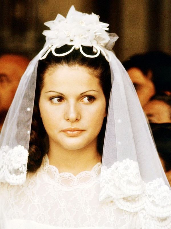 simonetta stefanelli in the godfather (francis ford coppola), 1972 (x)