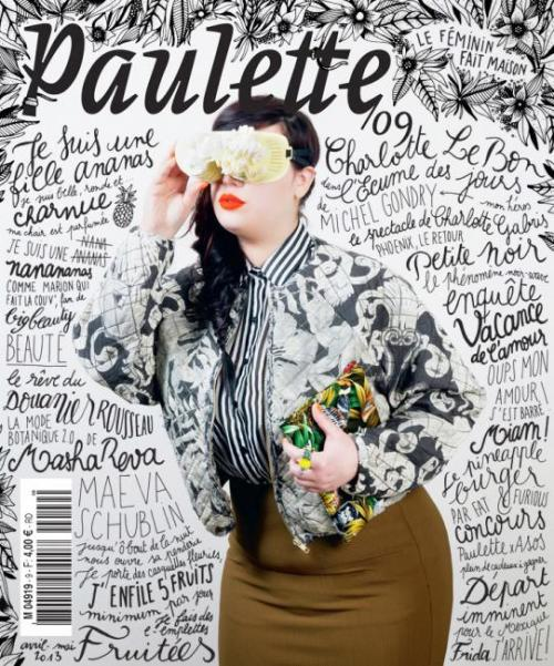 coverjunkie: Paulette (France) - Fresh new cover Paulette magazine from France