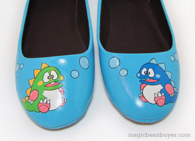 Most Wanted: Bubble Bobble Shoes  Wow, I haven't played Bubble Bobble in years but these shoesbrought it all back to me! I used to…  View Post