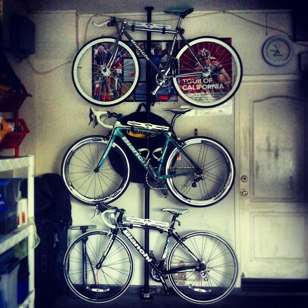 While you have fixies, we have #Bianchis. #cycling #bikes #2kewl4u