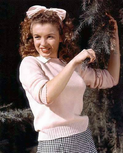 Norma Jean Baker - Winter 1940's