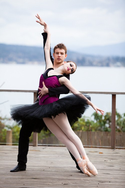 From the La Vie photo shoot a few weeks ago. Dancers: Madison and Levi from the Pacific Northwest Ballet School.