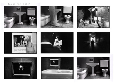 poetry-by-night:  duane michals, things are queer, 1973 gelatin silver print 9 images, each 5x7 sidney janis gallery, new york http://www.queerculturalcenter.org/Pages/Weingberg.html