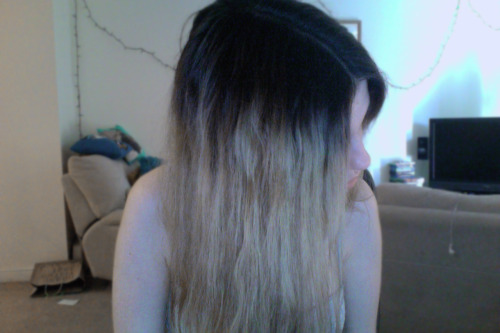 This is 9 months after bleaching my hair.