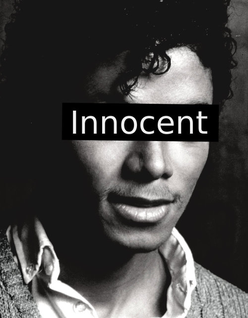 the man is INNOCENT …forever