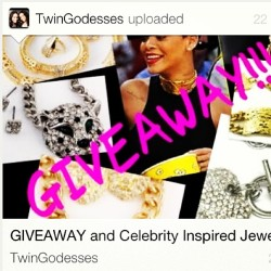 Make sure to log on to #youtube channel #twingodesses and join their #giveaway to win #LilXurious #accessories.
